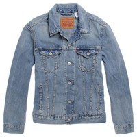 Levi's Dove Tail Trucker Jacket - Mens Jacket - Blue - Large