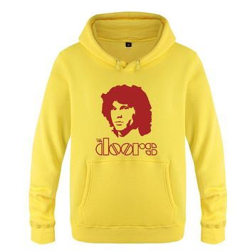 Jim Morrison Hoodie Cotton Winter Teenages The Doors Jim Morrison Sweatershirt Pullover With Hood For Men Women