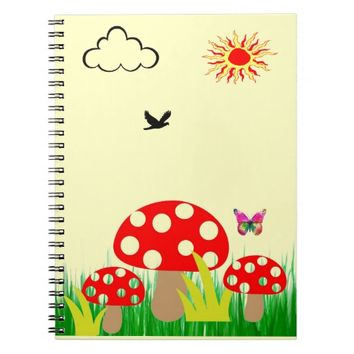 Mushrooms Notebook