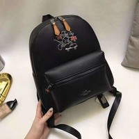 DCCKU1Q Coach Disney Limited Edition bag Mickey backpack