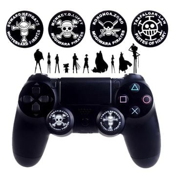 One Piece Anime Thumbstick Grip Cover for PS4 PS3 Xbox One Xbox 360 Controller