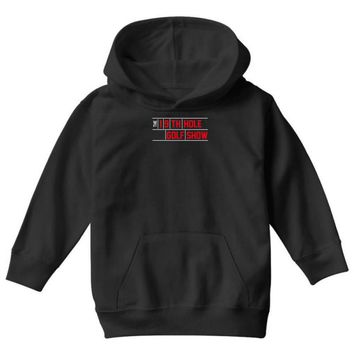 my best round is the 19th hole funny golf drinking Youth Hoodie