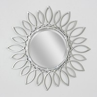 Sunflower Nickel Large Wall Mirror (8900)  - Illuminada