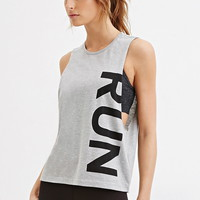 Run Graphic Muscle Tee