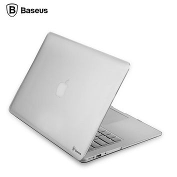 Baseus Ultra thin PC Laptop Case Cover for Apple Macbook Air 11 13 Slim Tablet Notebook Bag for Macbook Pro 13 Cases Retina 13
