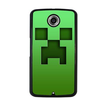 CREEPER MINECRAFT Nexus 6 Case Cover