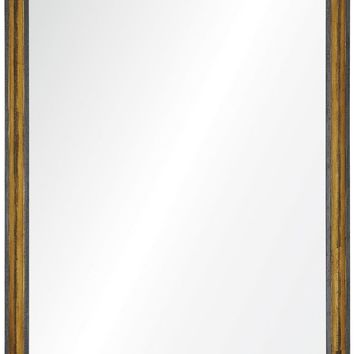 Quick Overview:Java Brown & Distressed Gilt Mirror