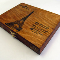 Eiffel Tower Jewelry Box by DeweysNook on Etsy