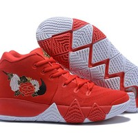 Nike Kyrie Irving 4 Chinese Red Sport Shoes US7-12