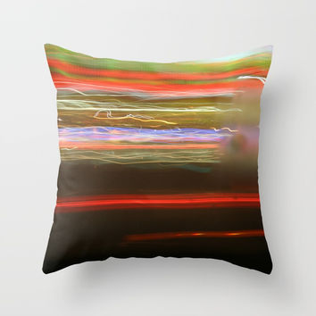 Blur #1 Throw Pillow by g-man