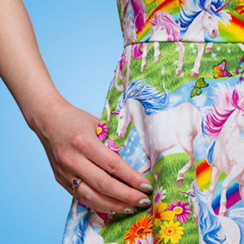 Unicorns and Rainbows Dress - Exclusive