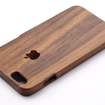 Walnut Real Wood iPhone 6/6Plus Case ,wood iPhone  5/5s case ,Samsung Galaxy S5 case,Note4 case -Engraved case,bamboo iPhone case,Gift