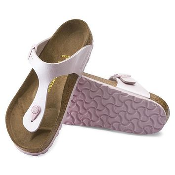 Best Online Sale Birkenstock Gizeh Birko Flor Graceful Rosa 745641 Sandals