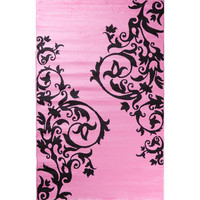 Threadbind Alisa Tatoo Scroll Kids Area Rug