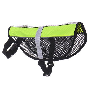 Reflective Service Dog Mesh Harness Vest for Small to Medium Dogs