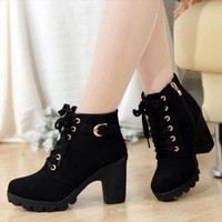 Lunar High Heel Boots