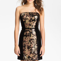 Jessica Simpson Strapless Sequin Sheath Dress | Nordstrom