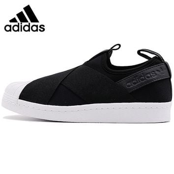 PEAPON Original New Arrival 2017 Adidas SUPERSTAR SlipOn Women's Skateboarding Shoes Sneakers