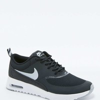 Nike Air Max Black and White Thea Trainers - Urban Outfitters