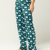 COSMIC LOVE Bear Womens Fleece PJ Pants | Pajamas