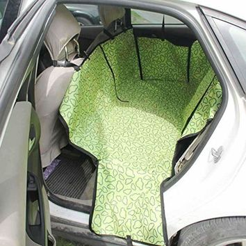 Pet Seat car Pat Waterproof Dog Seat Cover for Cars Backseat Pet Protect Washable Adjustable Dog Cat Safety Travel Blanket Mat