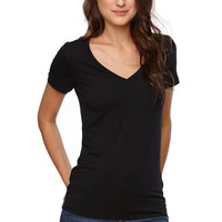 Nollie V-Neck T-Shirt - Womens Tee