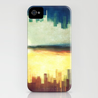 Parallel cities iPhone & iPod Case by SensualPatterns