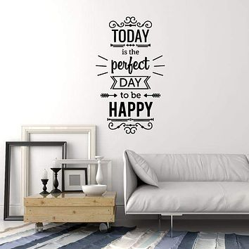 Vinyl Wall Decal Positive Quote Inspire Home Room Decor Art Stickers Mural Unique Gift (ig5122)