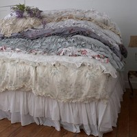 Rachel Ashwell Shabby Chic Couture Bespoke Bedding Collection