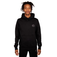 CHAMPION SUPER FLEECE HOODIE-BLACK