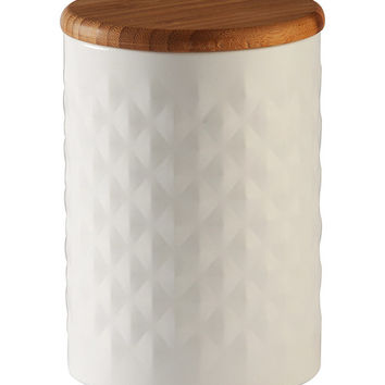 Pyramid Embossed Canister