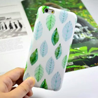 Sweet Fresh Leaves Case for iPhone