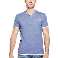 Phil Classic Henley Tee at Guess