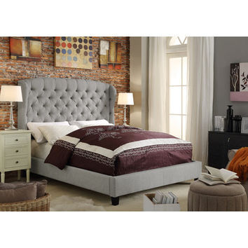 Mulhouse Furniture Feliciti Queen Upholstered Panel Bed