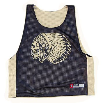 Skull Headress Lacrosse Pinnie