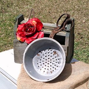 Farmhouse Vintage Colander