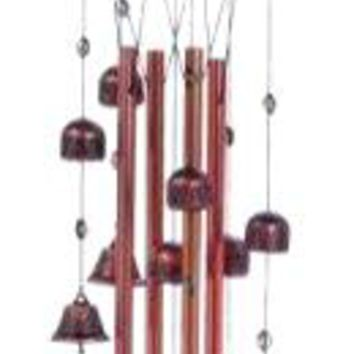 Metal Rooster Bell Wind Chimes