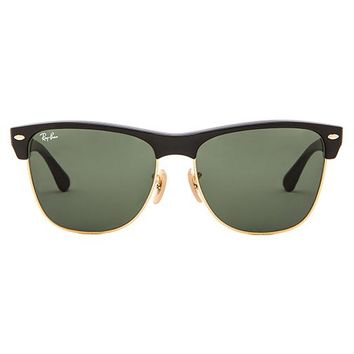 Ray-Ban Oversized Clubmaster in Black