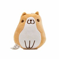 Sitting Corgi Plush Charm Decoration