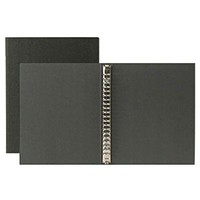 Recycled Paper Binder A5 20Holes Gray