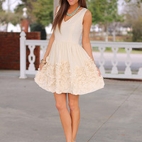 Head In The Clouds Dress, Ivory
