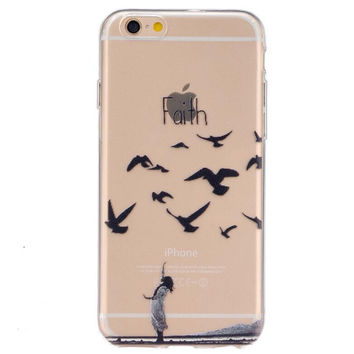 Unique Seagull Case Cover for iPhone 5s 5se 6s Plus Free Gift Box 45