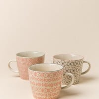 Cecile Ceramic Patterned Mug