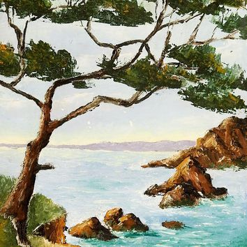 French Seascape Painting