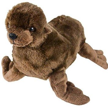 "Wildlife Tree 8"" Sea Lion Stuffed Animal Plush Floppy Zoo Animal Den Collection"