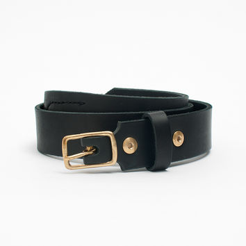Black Mechanics Belt