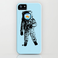 Goldfish Astronaut iPhone & iPod Case by Matt Irving