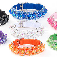 Fabuleash Fireball Beaded Dog Collars