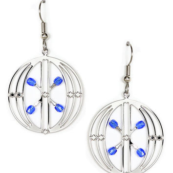 Sullivan Elevator Grille Earrings