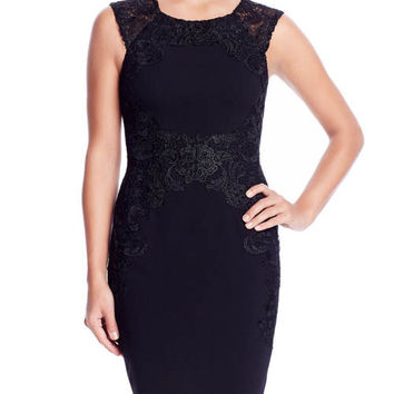 Betsy & Adam Women's Lace Embroidered Dress Sz 4, 6, 8, 14